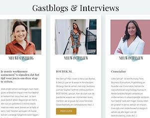 Interview on Website