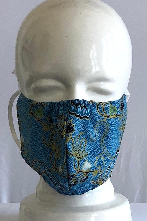 Java Blue Mask