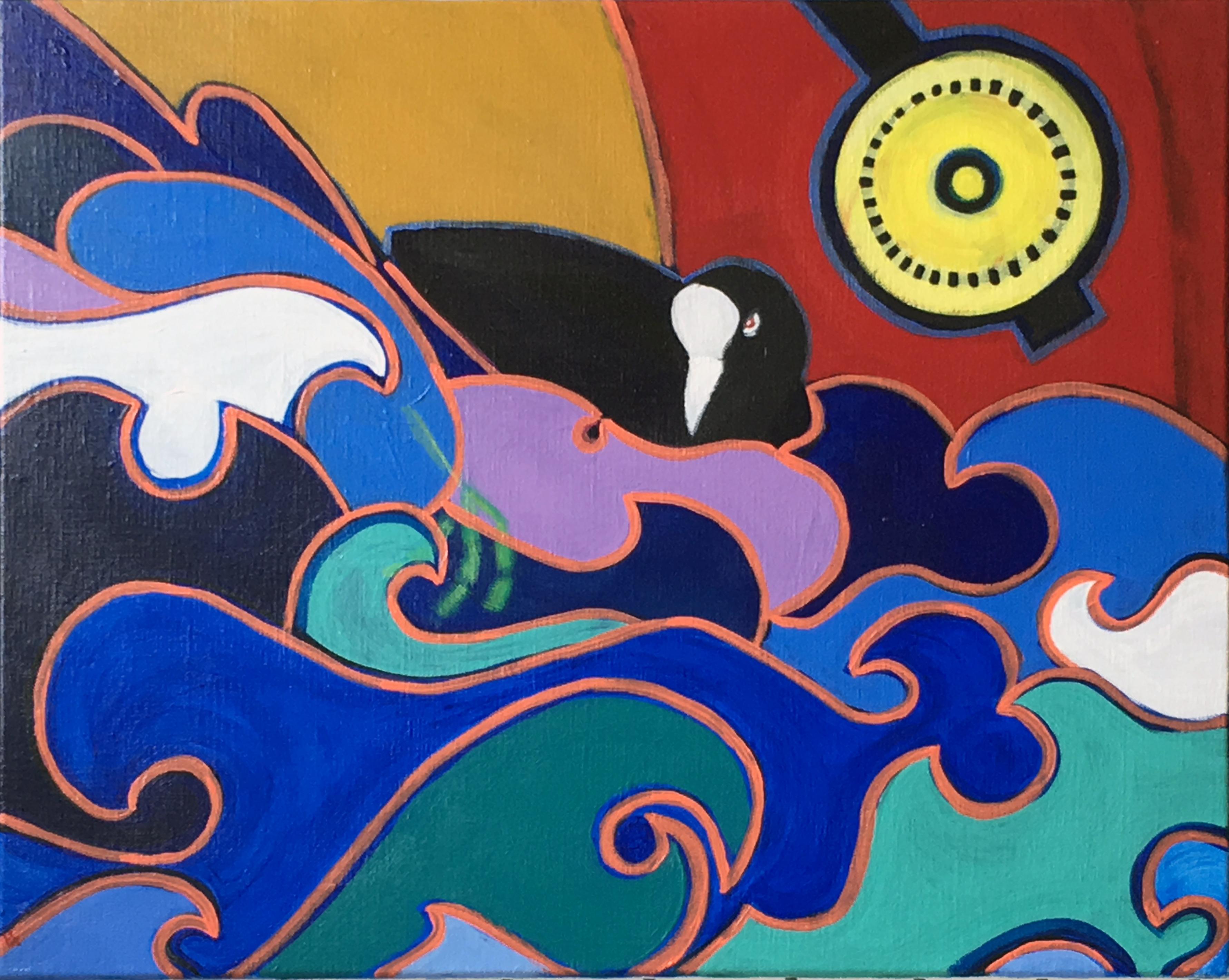 CuckooBizarre Coot Painting kt