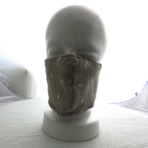 Beige Bean Lightweight Mask
