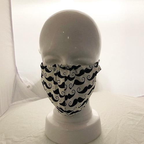 Moustashes Mask
