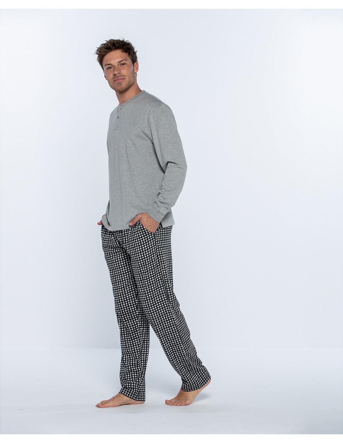 MUSA ZARAUTZ pijama-largo-de-algodon-cub