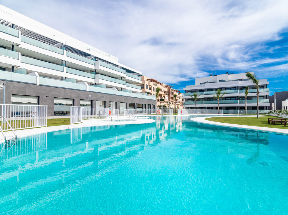 Ny leilighet med panoramautsikt i La Cala.