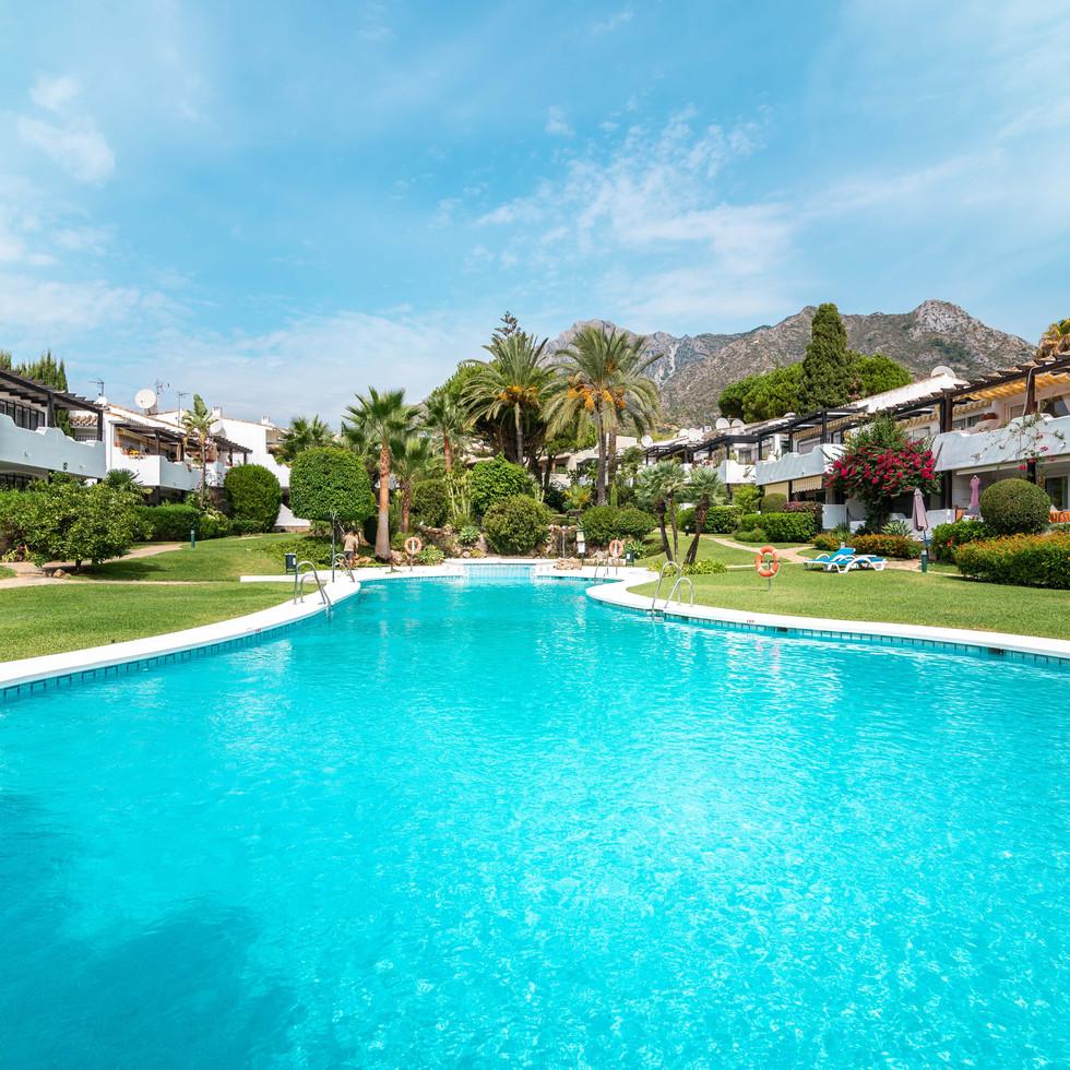 Trivelig toppleilighet i Marbella Sierra Blanca