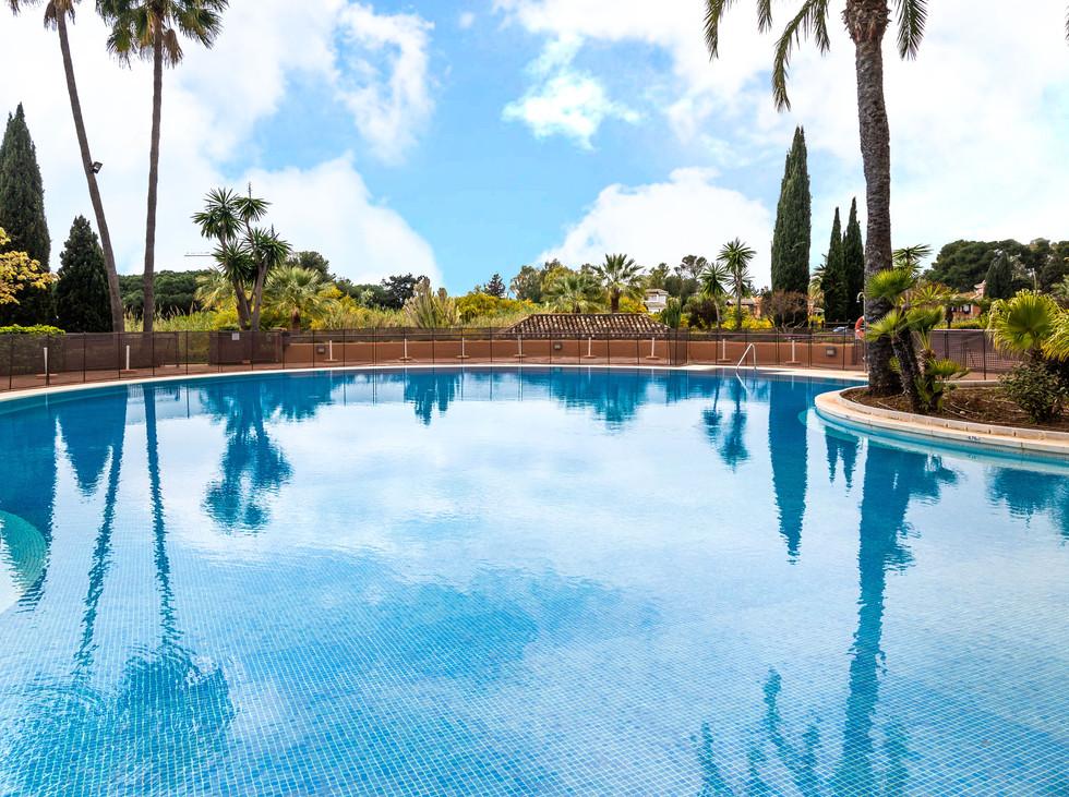 Flott leilighet i Bahia de Marbella.