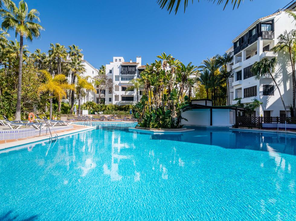 Moderne leilighet ved stranden i Elviria med gangavstand til ALT!