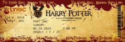HP Cursed Child Mock Up - Photoshop