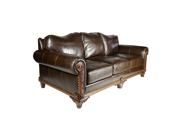 Rustic Spanish Revival Sofa custom made