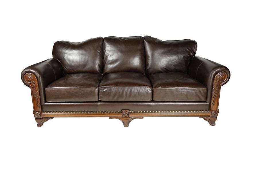 Erice Leather Sofa