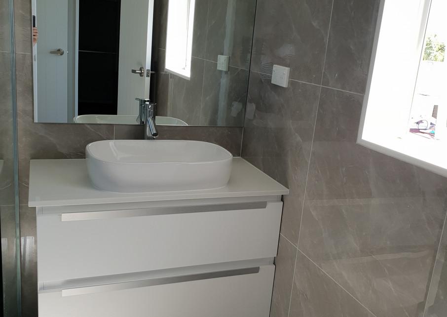 Bathroom after clean