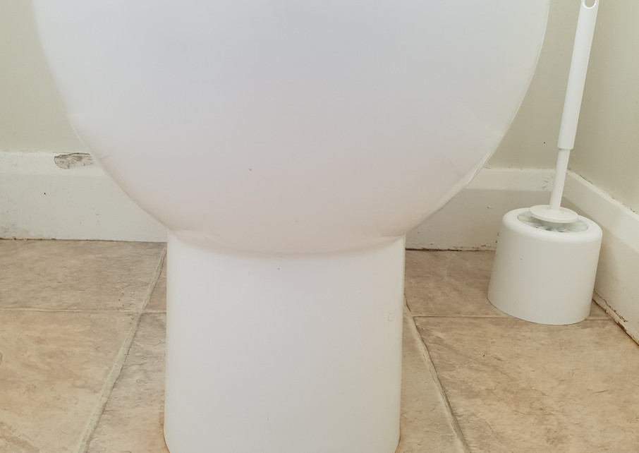Toilet after clean