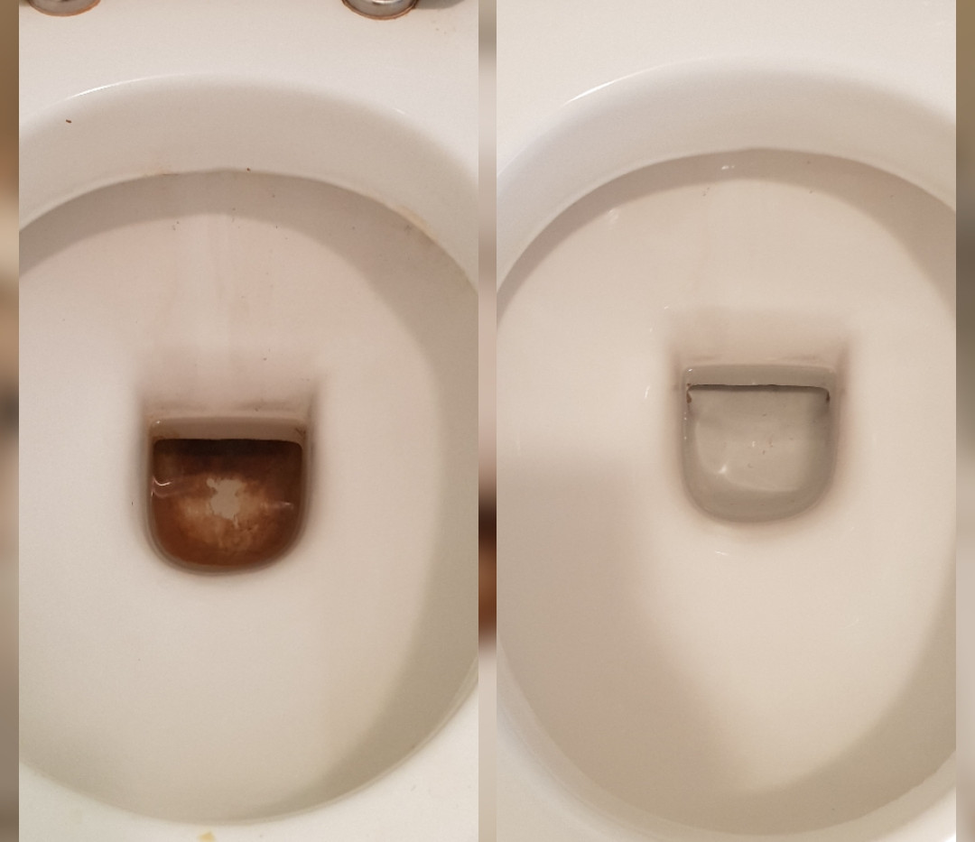 Toliet bowl inner comparison