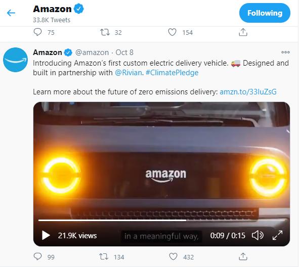 Amazon advertisement