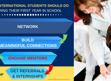 The 3 Things First-Year International Students should do