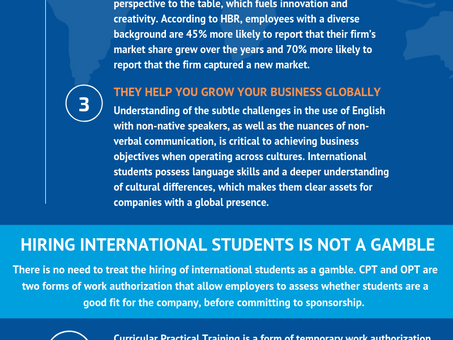 ICAway's guide for employers hiring international students