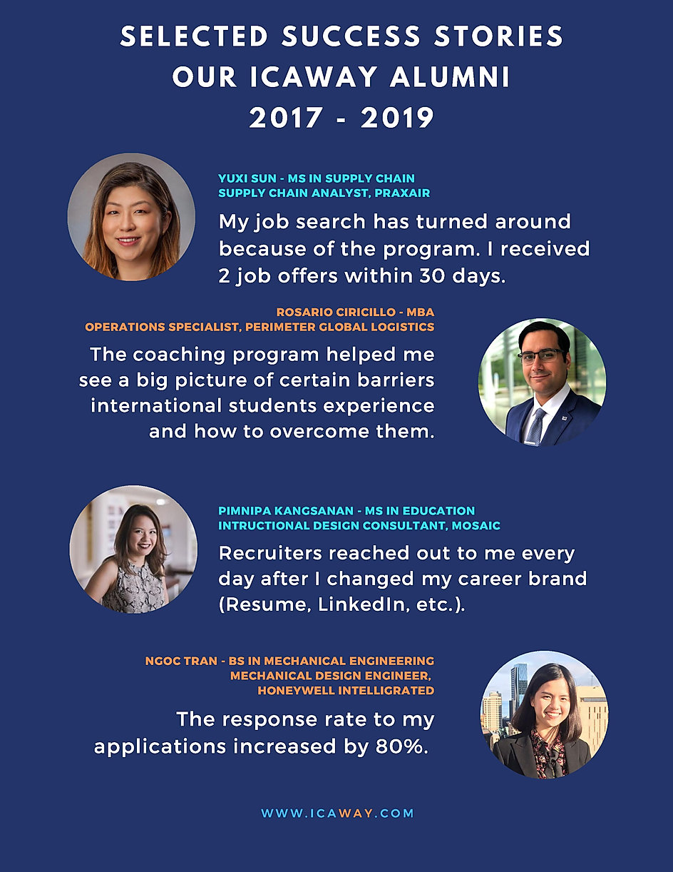 ICAway Internship Search Program_Fall 20