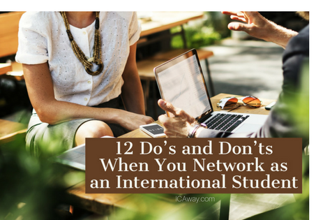 12 Do's and Dont's When You Network as an International Student