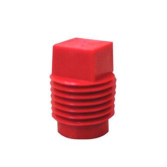 Threaded Square Cap