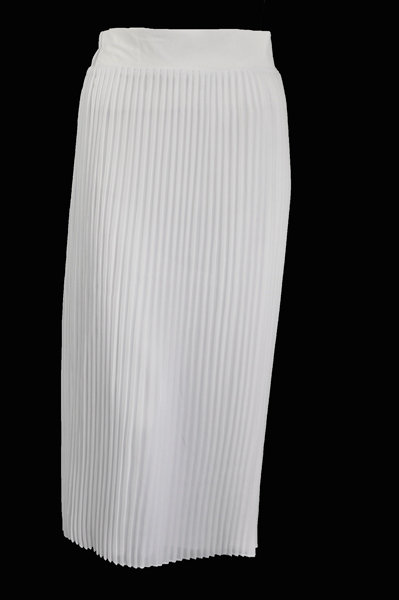 Long Pleated Skirts
