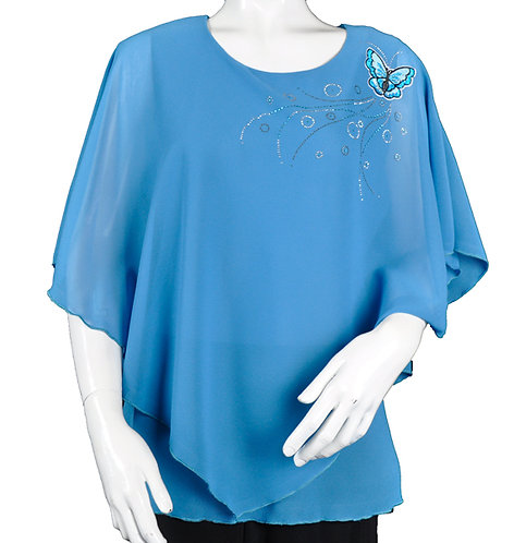 Butterfly Poncho Tops