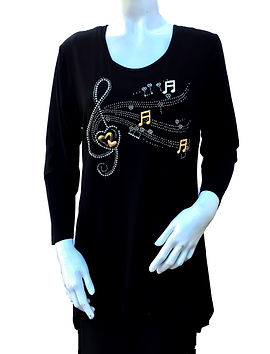 Gardy Musica Tunic Top