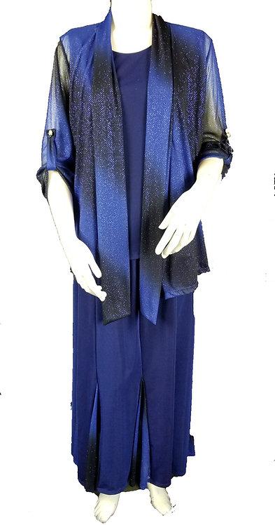 3PC Variegated Royal Blue Set