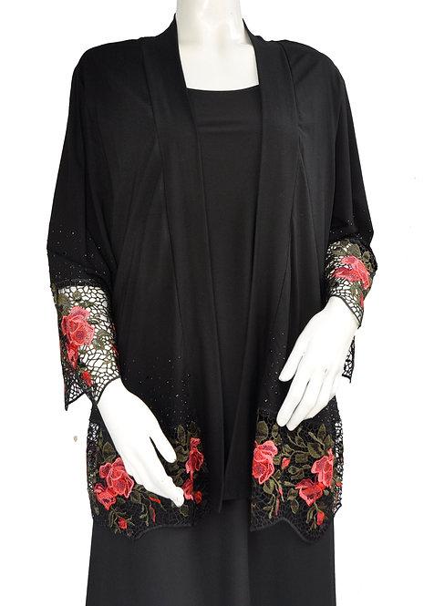 Rose Design Lace Jacket