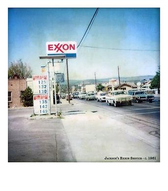 Jackson's Exxon Service - c. 1981 | Susanville, CA