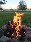 Camp Fire on the Ranch