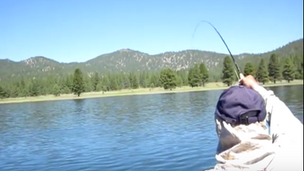 """Dry Fly Fishing 5 DOT RESERVOIR the """"CHAINSAW SHUFFLE"""""""