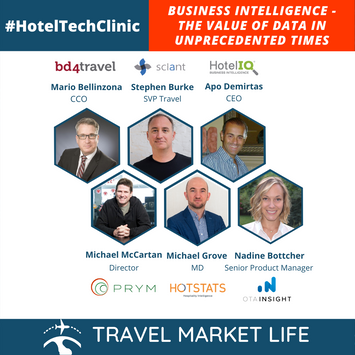 #HotelTechClinic - Business Intelligence - The Value of Data In Unprecedented Times