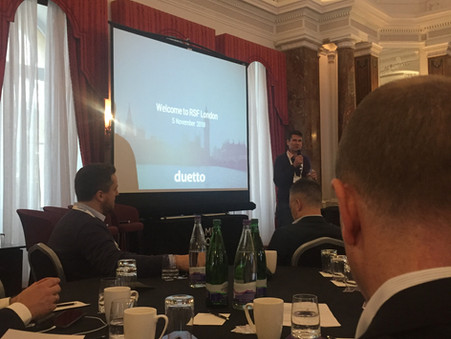 Revenue Strategy Forum 2018 - inside tech for hospitality with Duetto