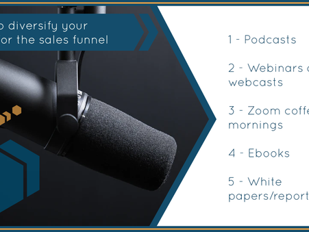 Diversifying Content for the sales funnel