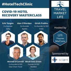 #HotelTechClinic - Covid-19 Hotel Recovery Masterclass