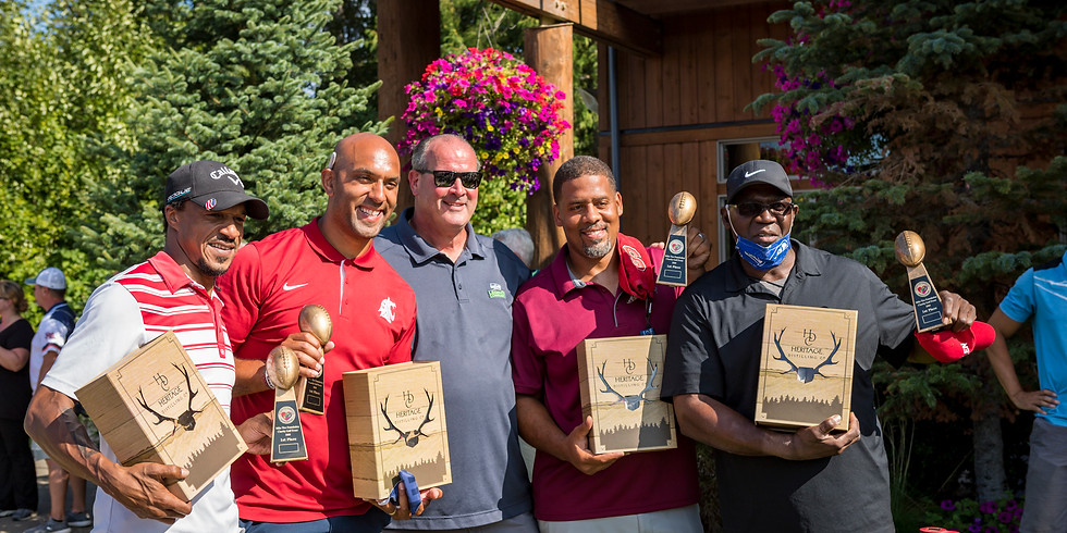 Mike Tice Celebrity Golf Event Clearwater Casino Resort, WA
