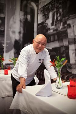 Chef Toshiro Konishi