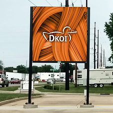 DKOI Digital Billboard - Orange