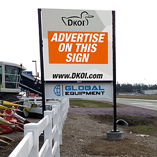 DKOI Digital Billboard - Advertise on this sign