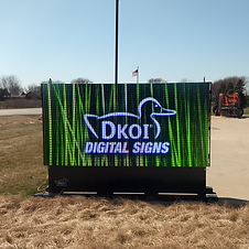 DKOI Snap Prefab Digital Sign
