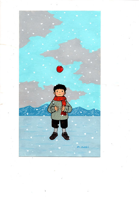 雪とりんご.jpg