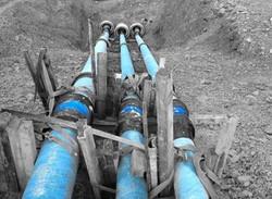 Rohrleitungsbau bei der Boller-Bau GmbH