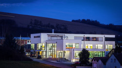 Das Firmengebäude in Distelhausen