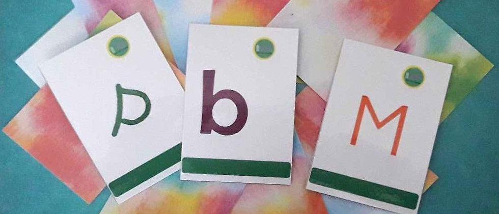 Pack Lettres dans les trois écritures