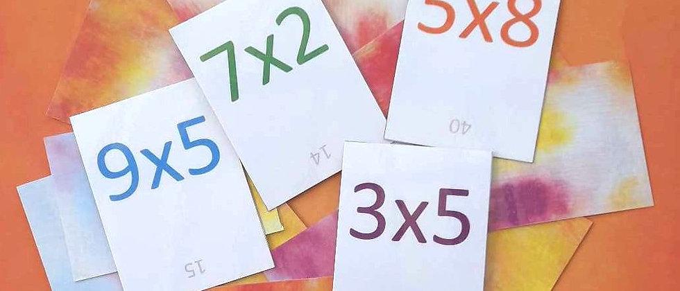 Pack Tables de multiplication