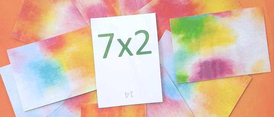 Tables de multiplication de 6 et de 7
