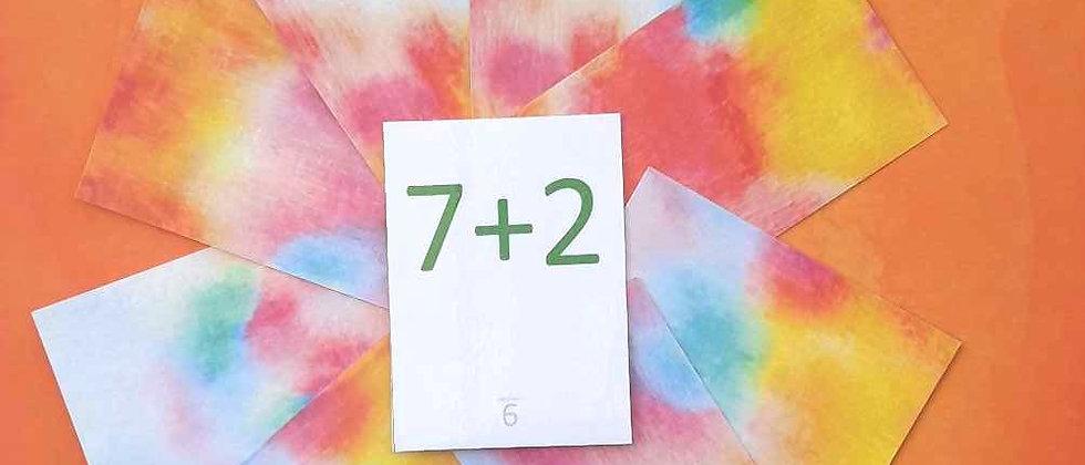 Tables d'addition de 1 à 10