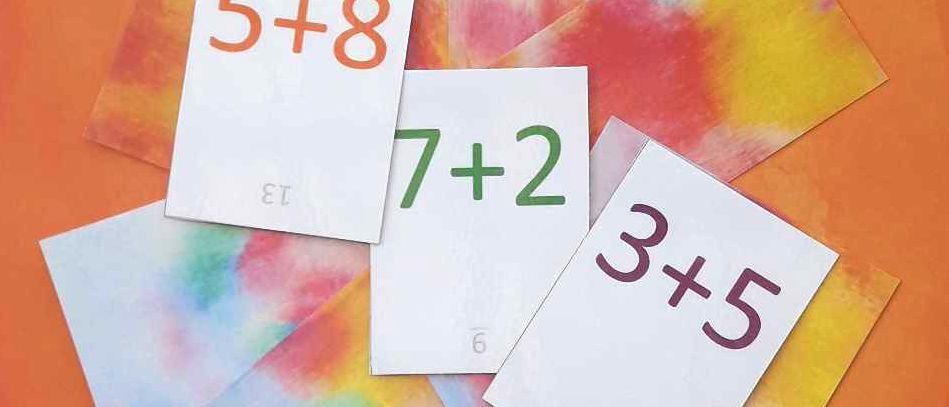 Pack Tables d'addition de 1 à 10
