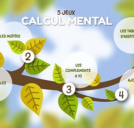 CP : l'arbre des calculs 5 jeux