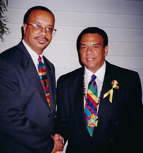 Herman Thomas Pictured With Andrew