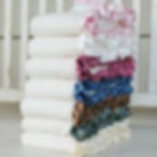 organic baby blakets, beautiful and soft organic baby blankets, ruffes, lots of colors to choose from